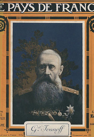 Nikolai Iudovich Ivanov - General Ivanov in a French journal