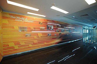 Land Transport Authority - The LTA Gallery is located at the LTA office at Hampshire Road