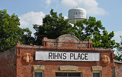 Rihn's Place and Water Tower