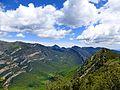 La Vall d'Hortmoier, des del castell de Bestracà.JPG