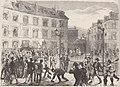 La maison qu'habitait Victor Hugo, place des Barricades, à Bruxelles (d'après le croquis de M. Von Eliot.).jpg
