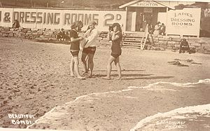 Bondi Pavilion - Image: Ladies dressing rooms