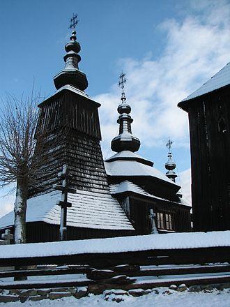 Ladomirová - Wooden church in Ladomirova