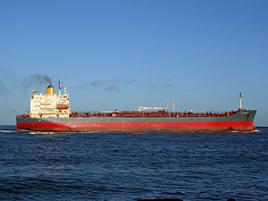 Lady Chiara p6 approaching Port of Rotterdam, Holland 29-Nov-2006.jpg