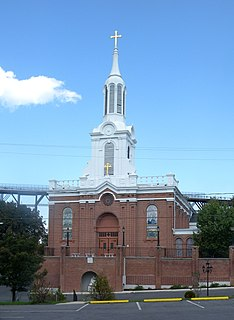 St. Peters Church (Poughkeepsie, New York) church in Poughkeepsie, New York
