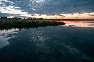 Kuusamojärvi - Image: Lake Kuusamo