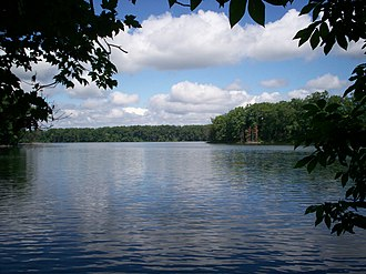 Franklin Township, Portage County, Ohio - Lake Pippen, located in the eastern part of the township