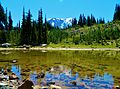Lake Reflection at Mount Adams Wilderness 01.JPG