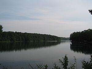 Schmaler Luzin - Image: Lake de Feldberg Schmaler Luzinsee