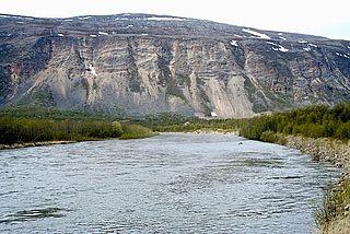 river in Karasjok and Porsanger, Finnmark, Norway