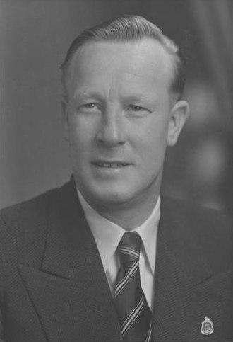 Lance Barnard - Barnard in the 1950s.
