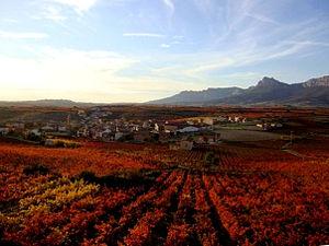 Lanciego/Lantziego - Image: Lanciego en otoño
