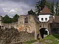 Landštejn, hrad, 2. brána 02.jpg
