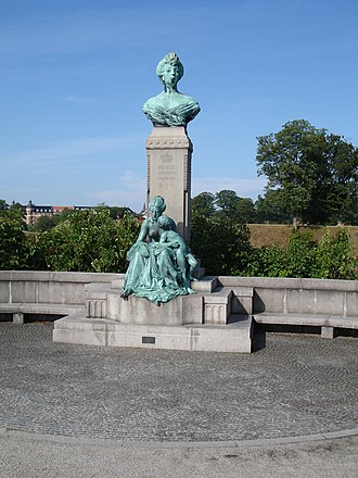 Princess Marie of Orléans (1865–1909) - The monument at Langelinie, Copenhagen