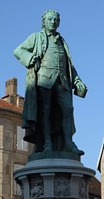 Statua di Diderot a Langres.