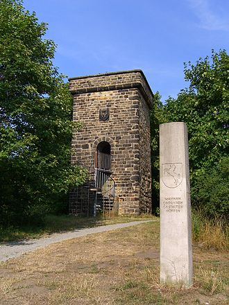Lappwald - Magdeburg watchtower near Helmstedt