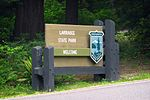 Larrabee State Park, welcome sign.jpg