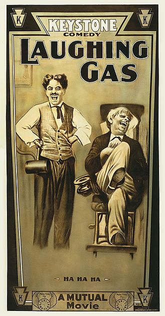 Laughing Gas (1914 film) - Image: Laughing Gas (poster)