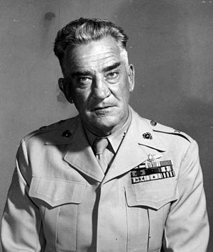 Lawson H. M. Sanderson - Sanderson as brigadier general, USMC.