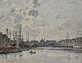 Le bassin du commerce (Le Havre, France)) by Eugène Boudin.jpg
