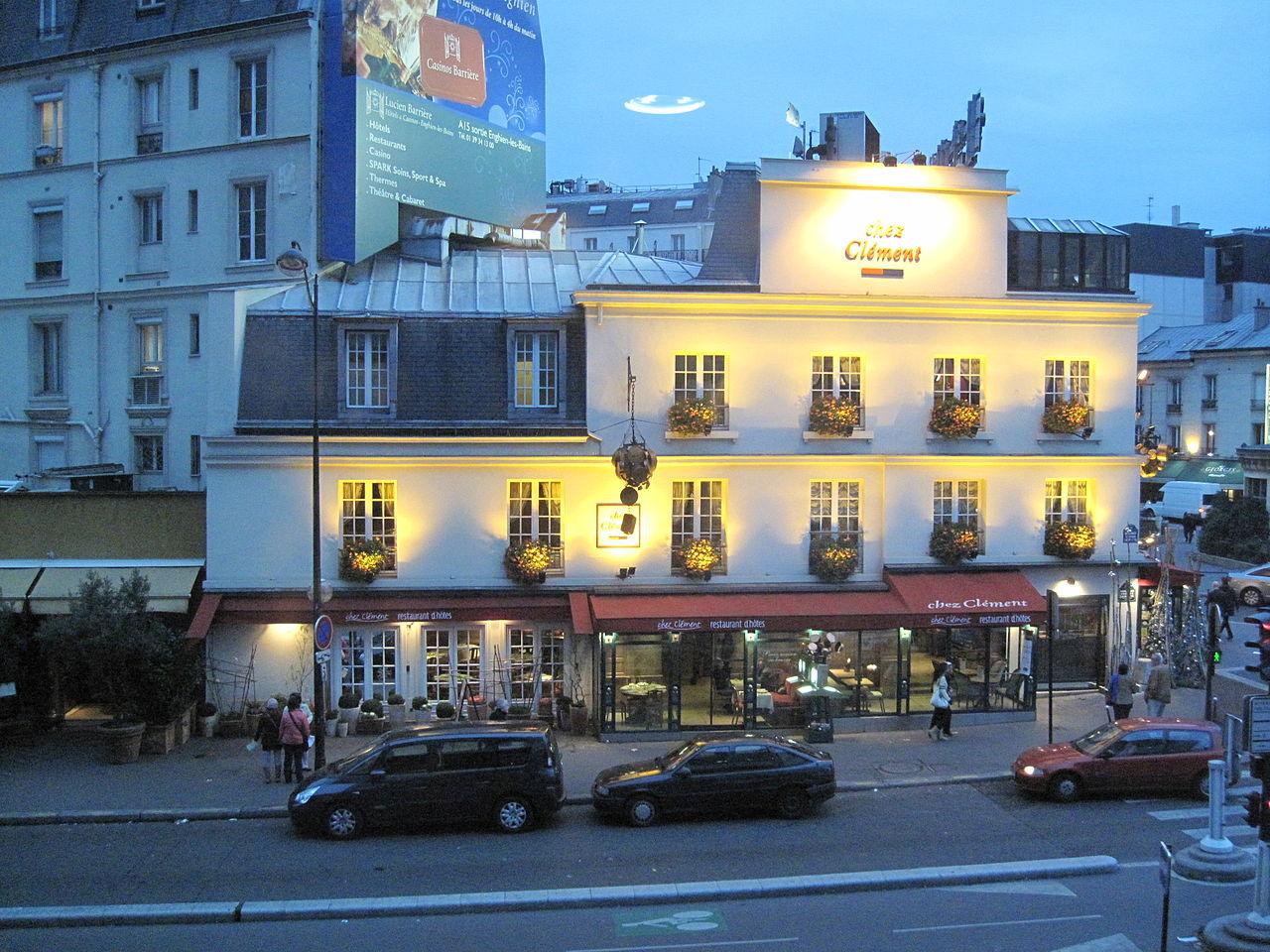 Soubor le restaurant chez cl ment porte maillot jpg - Restaurant le congres paris porte maillot ...