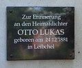 Leibchel Gedenktafel Otto Lukas 02.JPG