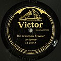Len Spencer, The Arkansaw Traveler, Victor 16199-A label.jpg