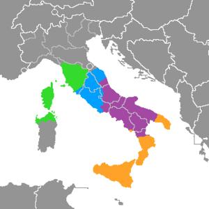 lengua italicas: