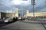 Lenin Prospect from Gagarin Square, Moscow (32049755535).jpg