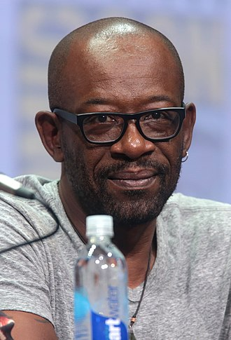 Lennie James - James at the San Diego Comic-Con International in 2017