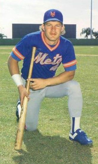 Lenny Dykstra - Dykstra in 1986