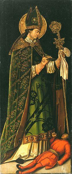 Dipinto di Leonhard Beck. Museo Nazionale della Fortezza di Coburgo