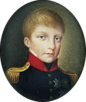 Prince Leopold, Count of Syracuse - Portrait c.1825