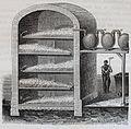 """Les merveilles de l'industrie, 1873 """"Coupe de la chambre à blanchiment par le chlore gazeux..."""" (4724248394).jpg"""