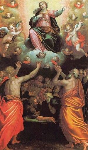 """""""Assomption de la Vierge Marie""""."""