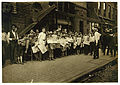 Lewis Hine, Newsboys with base-ball extra, Cincinnati, Ohio, 1908.jpg