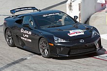 Lexus LFA Pace Car At The Grand Prix Of Long Beach