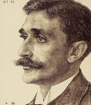 Willem Johannes Leyds - W.J. Leyds by J.P. Veth (1896)