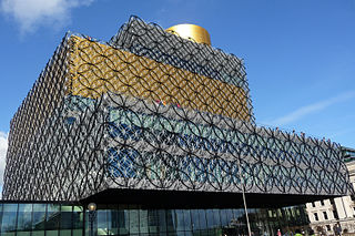 Birmingham Major city in the English Midlands, 2nd highest population of UK cities
