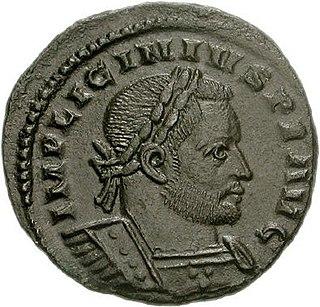 Licinius Roman emperor from 308 to 324