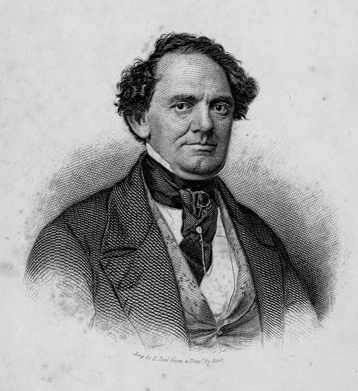 Life of P. T. Barnum frontispiece 1855