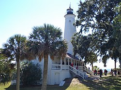 Lighthouse 1 at St Marks NWR.JPG