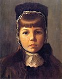 Lilla Cabot Perry, 1890 - Margaret with a Bonnet.jpg