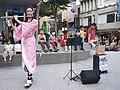 Lily Cao as Nezuko Kamado playing the western concert flute 20201101b.jpg