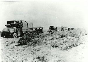Transcontinental Motor Convoy - Image: Lincoln highway nebraska