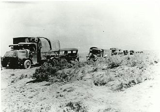1919 in the United States - July 7–September 6: The First Transcontinental Motor Convoy