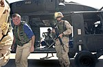 Lindsey Graham leaves a US Army Black Hawk Helicopter.jpg