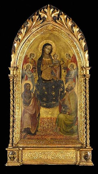 Lippo d'Andrea - Lippo's 'Madonna and Child Enthroned'