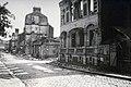Lisieux en ruines après les bombardements alliés de juin 1944 rue d'Alençon.jpg