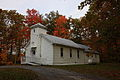 Little-country-church-fall-leaves - West Virginia - ForestWander.jpg